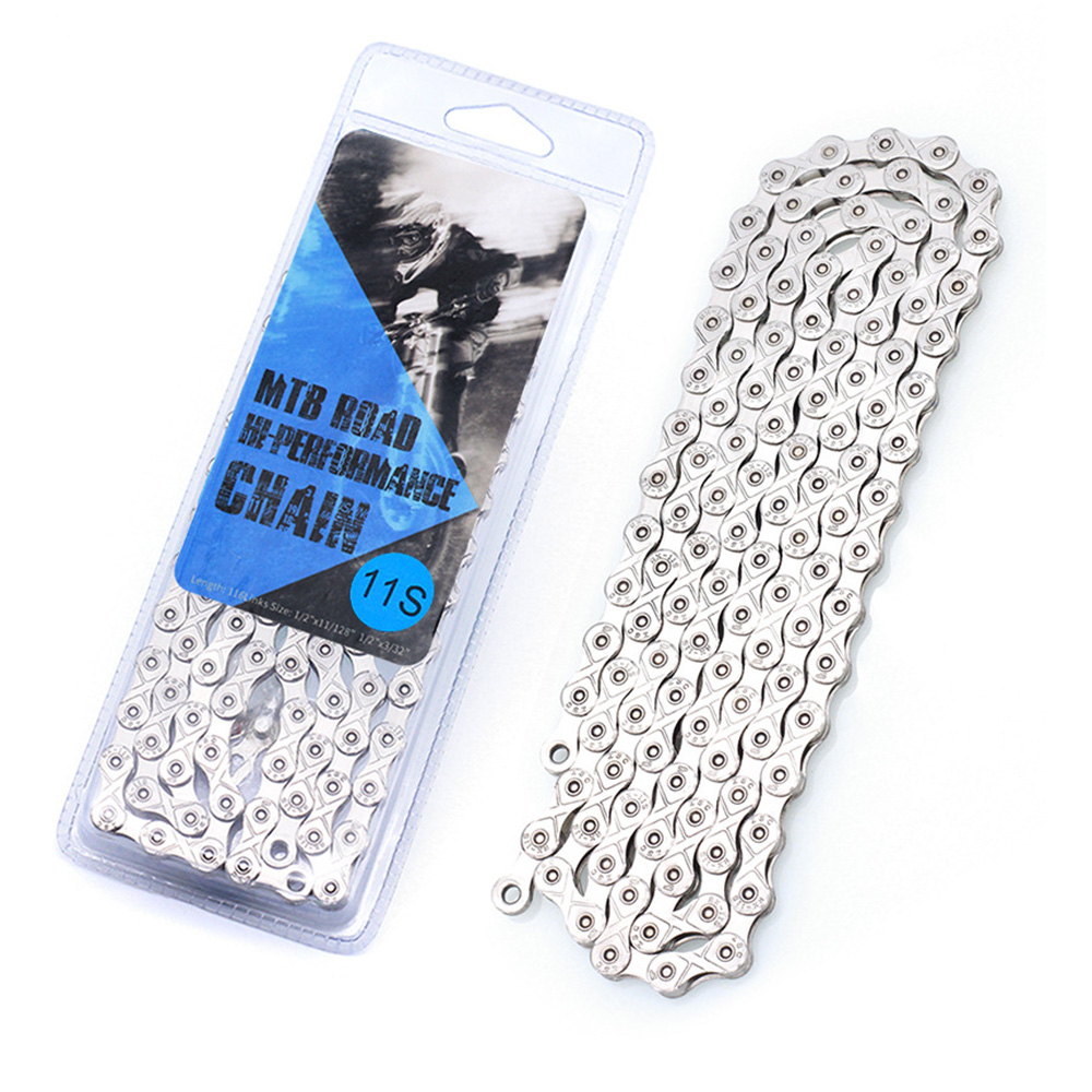Bike Chain 1,6,7,8,9,10,11 Speed for MTB/Road Bike Full/half hollow Cheap bicycle chains Mountain Bike Parts Accessories image
