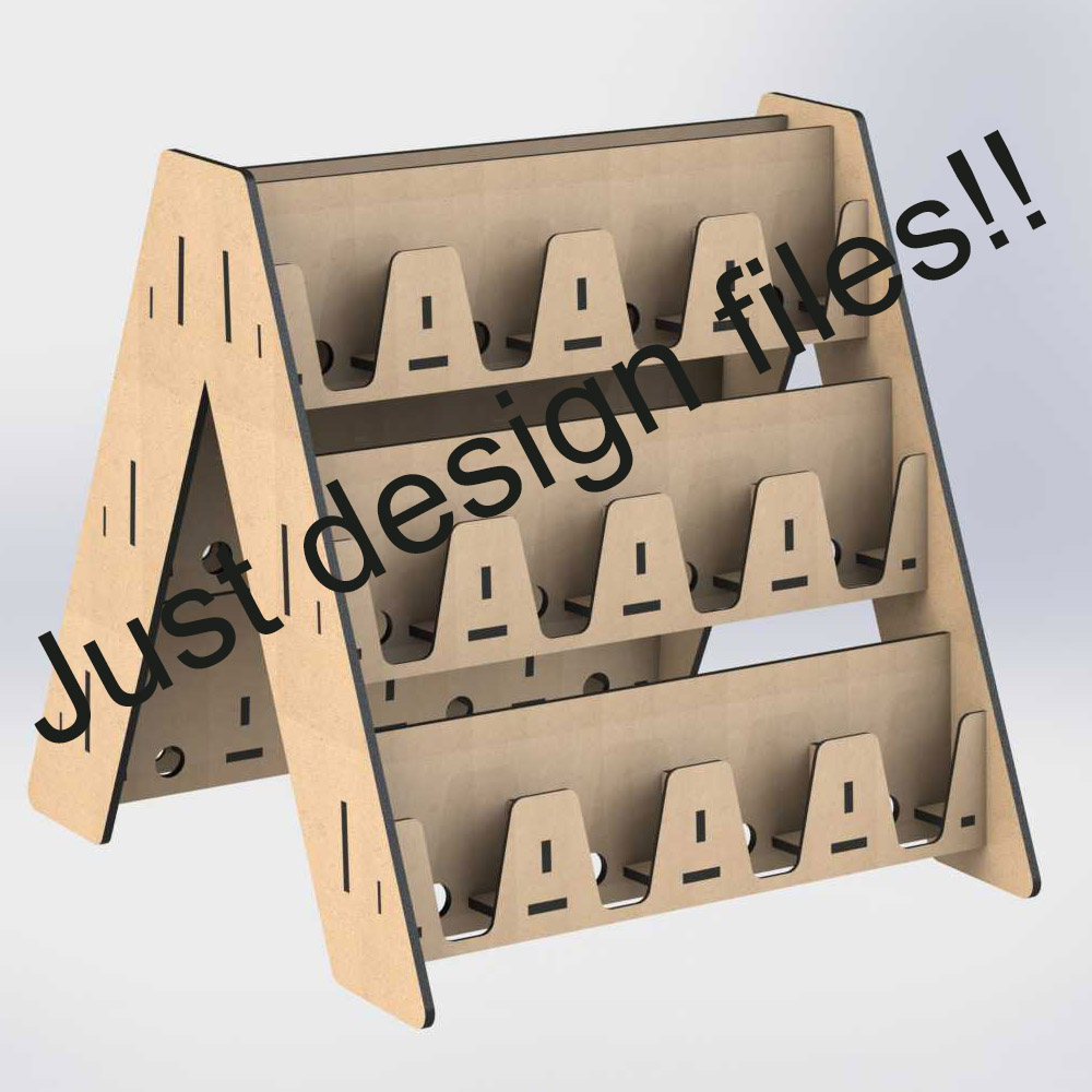 25 Items Stands Dxf Cdr Format Vector Design Drawing Files For CNC Laser Cutting Files Collections