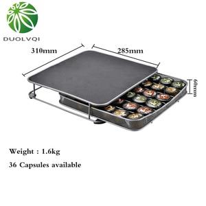 Image 5 - Duolvqi base para máquina de café, suporte para cápsulas de café dolce gusto/nespresso