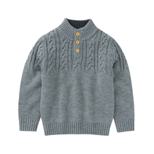 Boys Sweaters Pullovers Knitwear Jumpers Long-Sleeves Toddler Infant Autumn Kids Winter