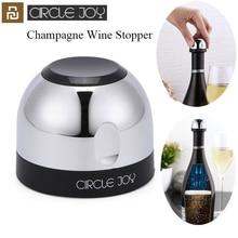 Youpin Circle Joy Sparkling Wine Mini Champagne Stopper Mini Wine Stopper Rotary lock DesignVacuum Efficient Preservation