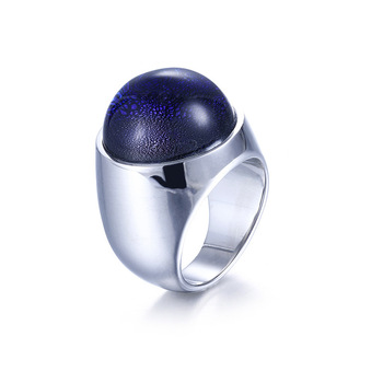 Luxury Coloured Glaze Titanium Steel Rings Accessories Jewel Ring Fashion Jewelry Lover Valentine Lovers Couples Party Gifts