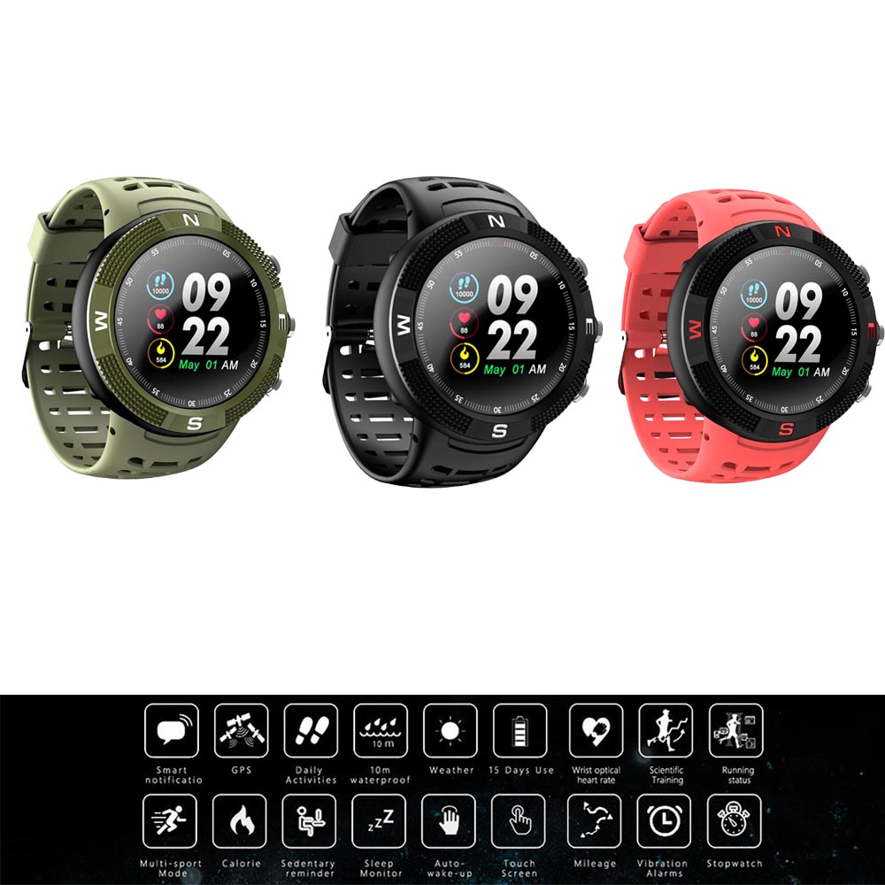 Men Watch Clock Compass Message-Reminder-Band Positioning-Wristband GPS Outdoor Sports title=
