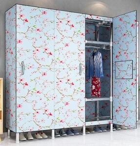 бесплатная доставка Шкаф для одежды из ткани Оксфорд складной шкаф для хранения одежды мебель для спальни шкаф