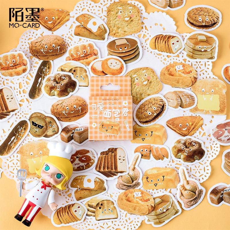 Kawaii Lovely Breadman Bullet Journal Decorative Stationery Stickers Scrapbooking DIY Diary Album Stick Lable