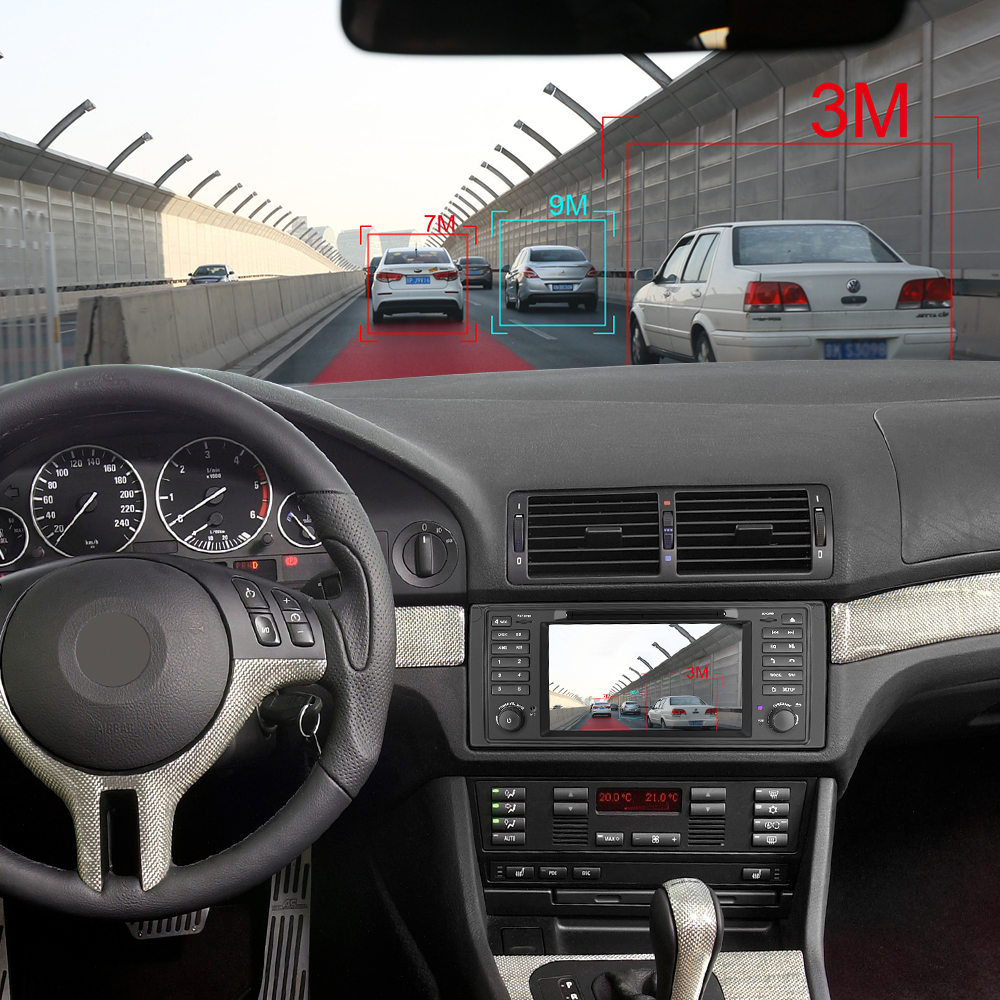 Image 5 - Isudar Octa Core 1 Din Auto Radio Android 9 para BMW serie 5 E39 CANBUS coche Multimedia Video reproductor de DVD GPS navegación DVR DSPReproductor multimedia para coche   -