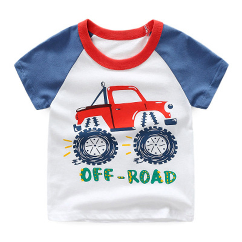 Summer Children T-Shirts Cotton Boys T Shirt Kids TShirt Autumn Kids Girls Tops 1-8 Years Children Clothes