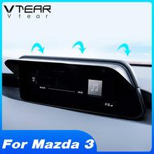Vlarme pour Mazda 3 2020 2019 accessoires GPS Navigation écran pare-soleil Protection couverture intérieur style décoration produit