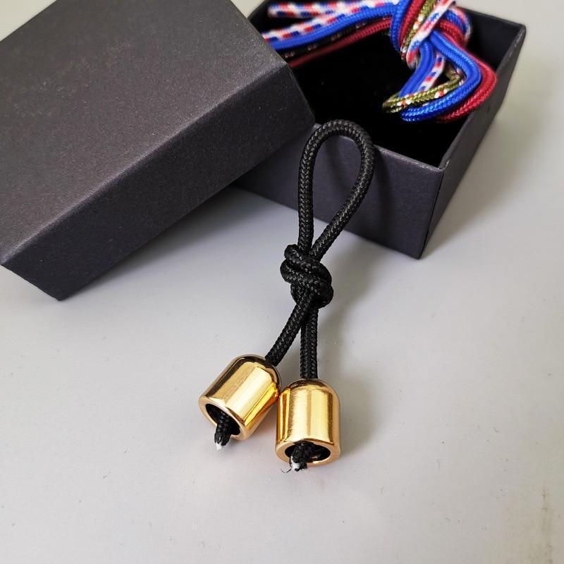 Toys Spinner Fidget-Toy Paracord Beads Finger-Skill Stress Begleri Aluminum-Alloy Worry img4