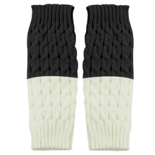SAGACE гетры носки женские лоскутные носки теплые зимние женские носки мягкие модные вязаные гетры повседневные Стрейчевые носки