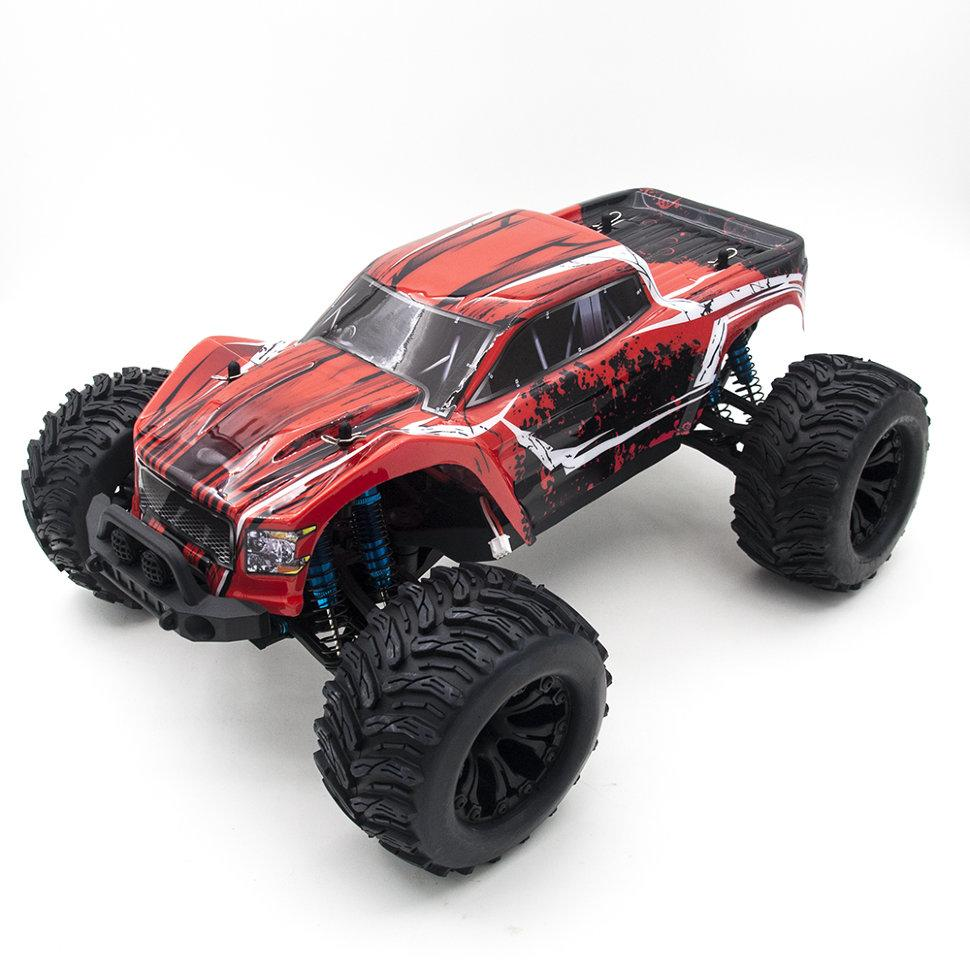 HSP 94701 <font><b>1</b></font>:<font><b>10</b></font> 2.4G 4WD big foot remote control car toy car RC racing radio control boy toy image