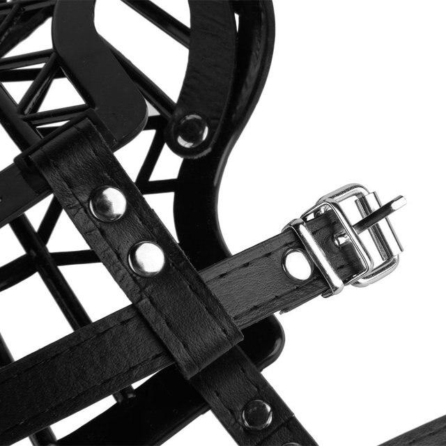 Lightweight Basket Dog Muzzle  3
