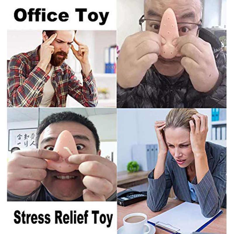 Wyciskanie nosa pryszcz Popping zabawka antystresowa prezent zabawa żarty dla dorosłych dzieci nastolatki FJ88