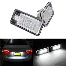 2X LED Number License Plate Lights Lamps 8E0807430A 8E0807430B 8E0943021B 8E0943022B