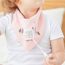 Newborn bibs feeding bandana bib Burp Cloths Infant Nursing apron Printing baby stuff scarf CZJ007(China)