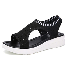Women Sandals Breathable Comfort Shopping Ladies Walking Shoes