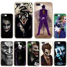 Joker Batman la broma cara para iPhone 11 Pro 4 4S 5 5S SE 5C 6S 6 7 8 Plus X 10 XR XS Max para iPod Touch funda de silicona(China)