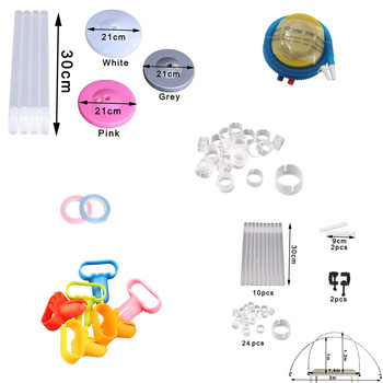 Arch / Chain / Column / Stick Holder / Tube Ballon Accessories Inflatable Baby Kids Birthday Party Wedding Balloons Dq-p image