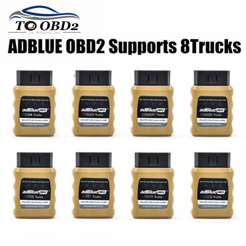 AdblueOBD2 Emulator Easy To Install Plug&Drive Ready Device Adblue OBD2 For For VolvO/DAF/Benz/Renault/Scania/Man/Iveco
