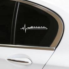 1pcs Auto Car window glass Decor Stickers Reflective Decals Car-Styling For lada XRAY niva kalina priora granta largus vaz