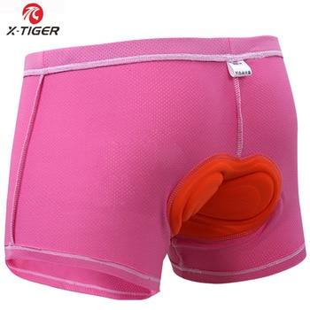 X-Tiger Upgrade Cycling Shorts Mesh Cycling Underwear 5D Gel Pad Shockproof Cycling Underpant MTB Shorts Bike Underwear 9