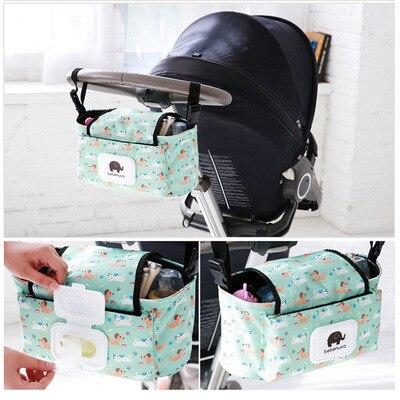 Infant Cart Bag Buggy Pannier Bag Children Stroller Accessories Hanging Bag Baby Storage Bag Stroller Diaper Bag