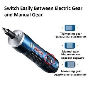 Image 2 - BOSCH gitmek BOSCH GO2 Mini elektrikli tornavida 3.6V lityum İyon pil şarj edilebilir akülü elektrikli matkap elektrikli tornavida