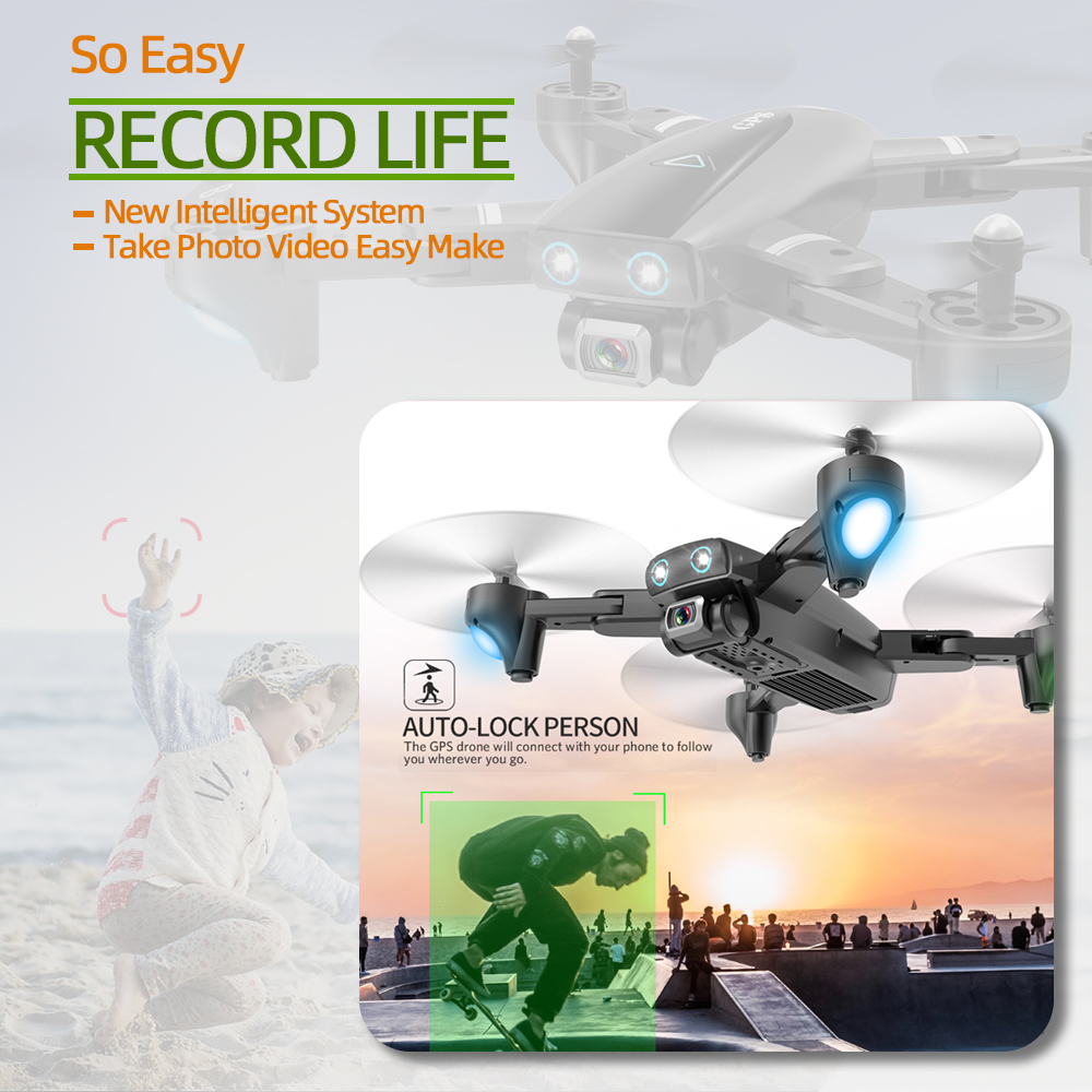 S167 GPS quadcopter drone 4k dron with camera toys rc helicopter profissional quadrocopter FPV toy racing VS S20 SG907 X8 ex4