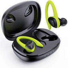 Tws Bluetooth 5 0 Oortelefoon Met Opladen Doos Draadloze Hoofdtelefoon 9D Stereo Sport Waterdichte Oordopjes Headsets Met Microfoon cheap GDLYL Oorhaak Dynamische Cn (Oorsprong) Echte Draadloze voor video game voor mobiele telefoon hifi hoofdtelefoon lijn type