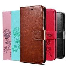 Luxo caso da aleta para huawei companheiro 9 10 p9 p10 pro lite mini p smart plus 2019 2018 titular do cartão de couro carteira suporte capa