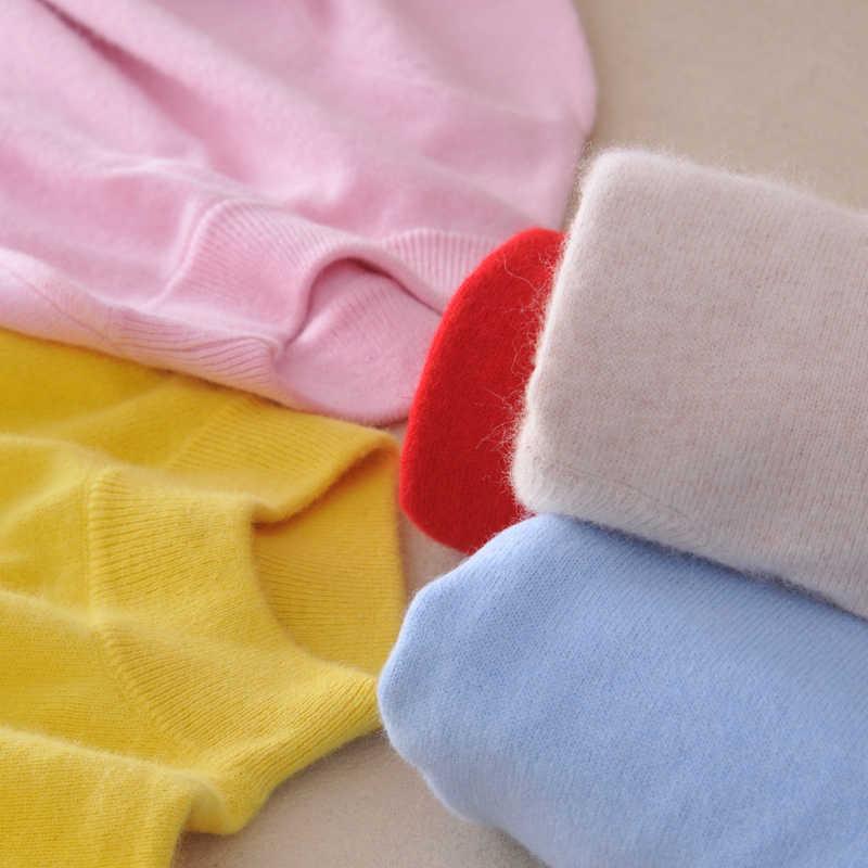 Winter Hohe Qualität Kaschmir Pullover Frauen Langarm-rollkragenpullover Halb Pullover Gestrickte Pullover Weibliche Dünne Wolle Pullover
