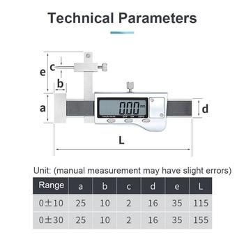 Type Altimeter Scale LR44 Button Battrey Adjustable Stem Distance Vehicle Measuring All Metal Large Screen Point Step Meter