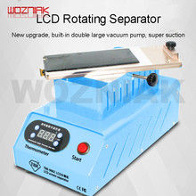 Tbk-988z rotating LCD Screen Separator For SAMSUNG Mobile phone Curved screen separate machine