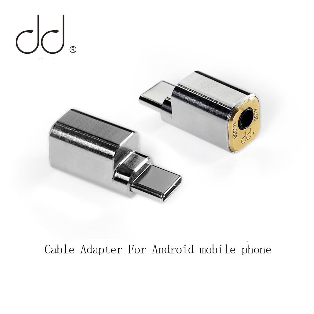 DD TC35B adattatore cavo USB da tipo C a Jack 3.5 per telefono cellulare Android Huawei Xiaomi SAMSUNG ecc., adattatore USB C per cuffie