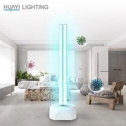 HUAYI esterilizó la lámpara de desinfección casera 38 W UV lámpara germicida de ozono blanco puro