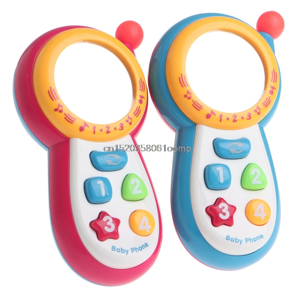 Baby Kids Learning Study Musical Sound Cell Phone Educational Mobile Toy Phone ## Drop Ship image
