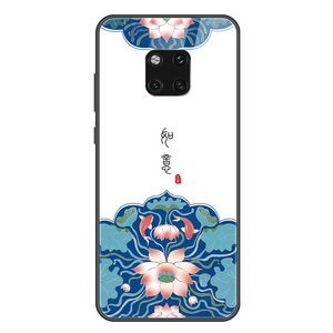 Image 5 - סיני Vintage ארמון סגנון מקרה עבור Huawei MATE 30 פרו MATE 20 פרו P30 פרו מזג זכוכית טלפון מקרה mate30pro mate20pro