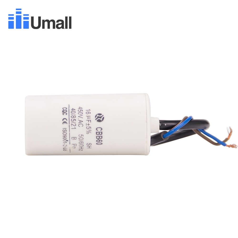 Condensatore 31,5 microfarad motore elettrico elettropompa Motor capacitor 450V