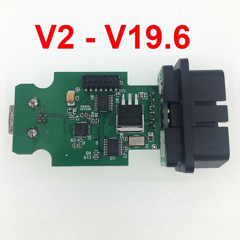OBD COM Can USB Interface Cable V17.8 V2 18.9 19.6.1 OBDII 16pin HEX For Audi Vw Seat Skoda German/Danish/Dutch Multi-Language