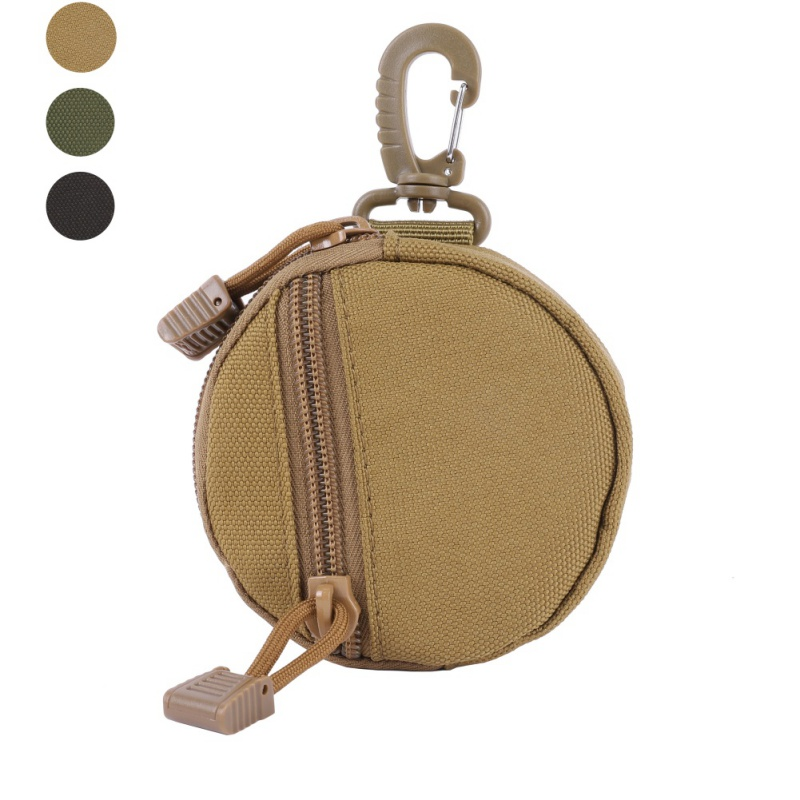 Tactical Waist Bag Multifunctional Waterproof Keychain Bag Organizer Molle Pouch Military Key Coin Bag Purses Pouch Camping Belt