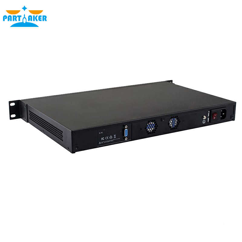 Partaker 1U Firewall Appliance  Network Server R11 i5 2520M 6 LAN 4G RAM 64G SSD Router OS Support