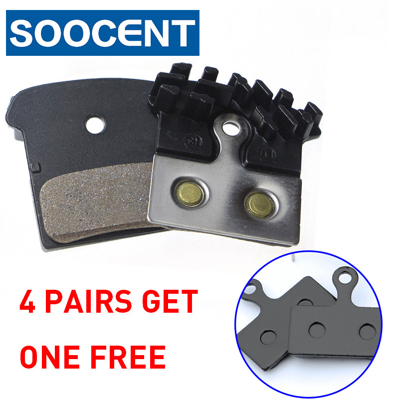 4 Pairs Bicycle COOLING FINS Brake Pad For SHIMANO J02A XTR XT SLX DEORE