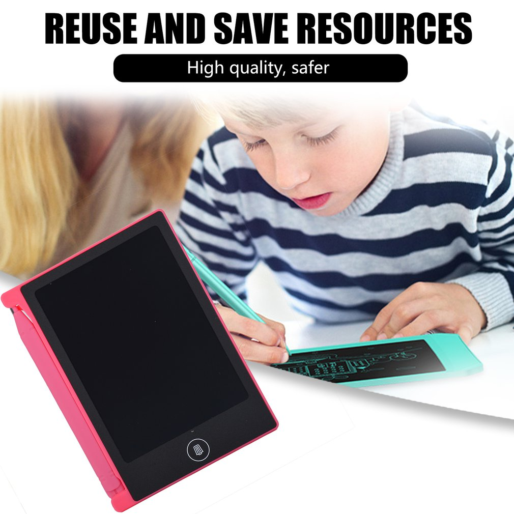 4,4 дюймовый ЖК-планшет для письма, электронный блокнот для письма, ЖК-экран, цифровой графический планшет для рисования, блокноты для рукописного ввода, Обучающие блокноты для письма