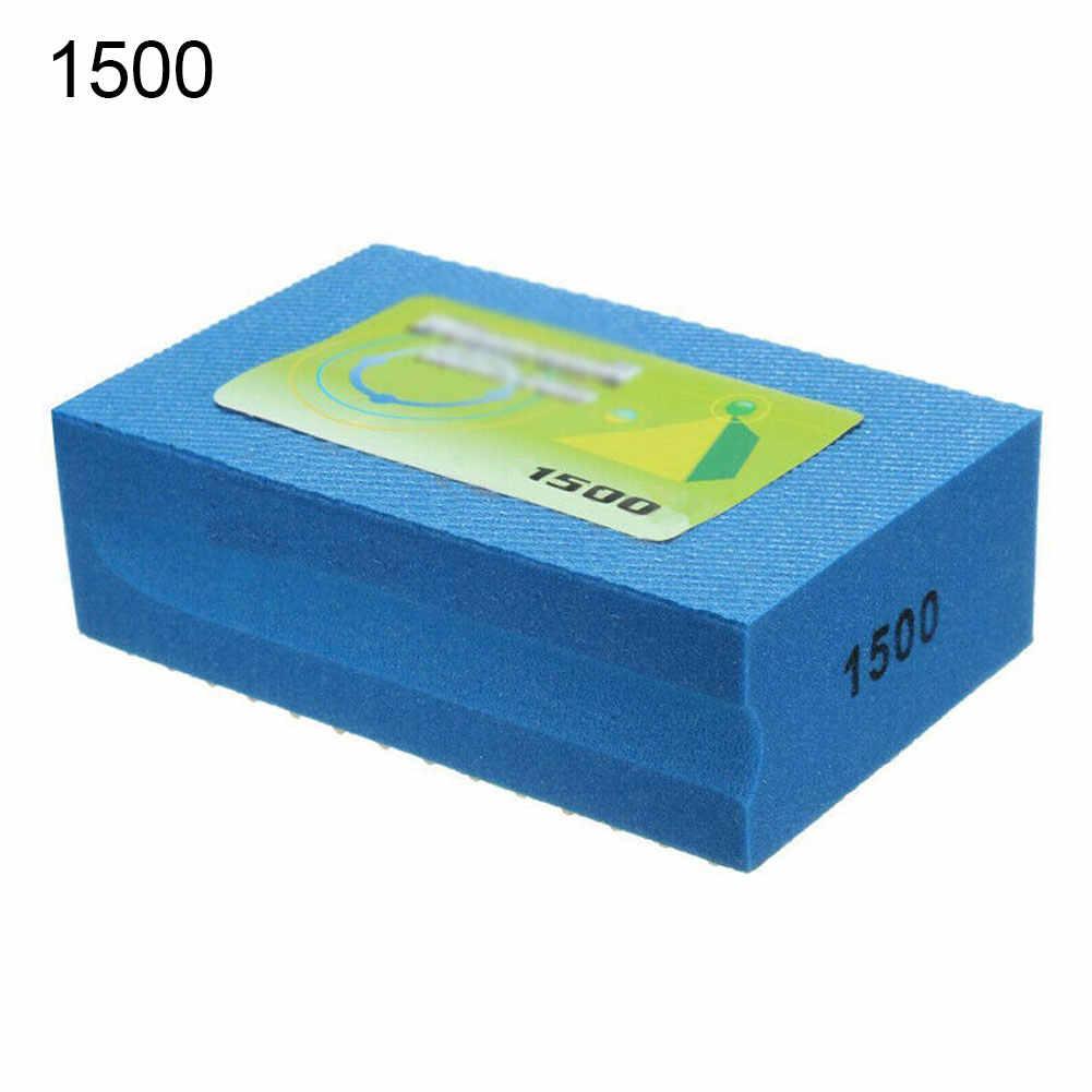 US Diamond Glass Polishing Hand Pad Block For Granite Marble Stone 60-3000 Grit