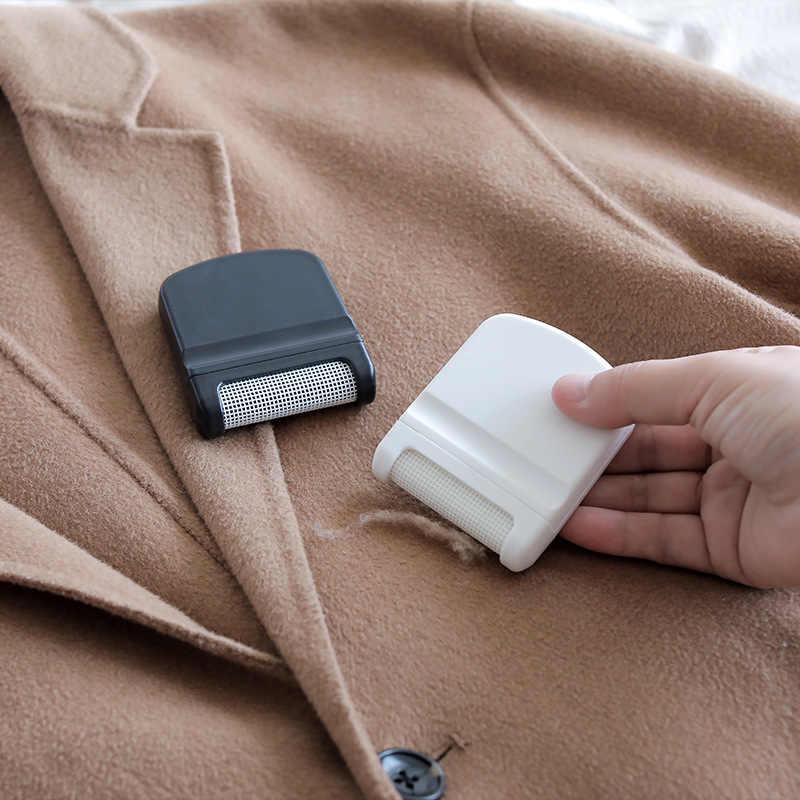 Yeni mini pamuk tiftiği temizleyici saç top düzeltici Fuzz pelet kesim makinesi taşınabilir epilatör triko giyim tıraş çamaşır temizleme araçları