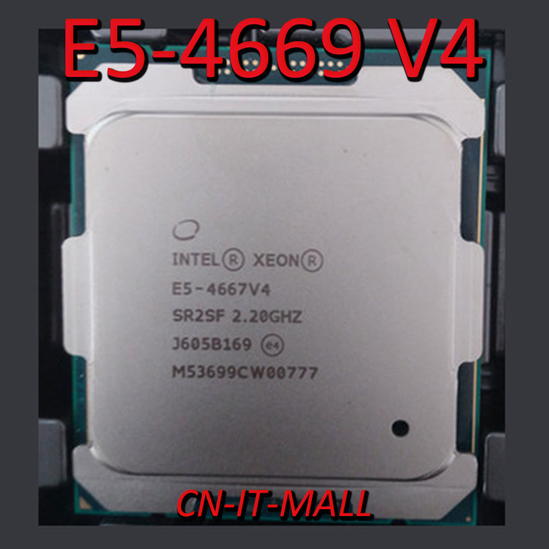 Intel Xeon E5 4669 V4 Server Cpu 2 2g 55m 22core 44 Thread Lga2011 3 Processor Computer Cables Connectors Aliexpress