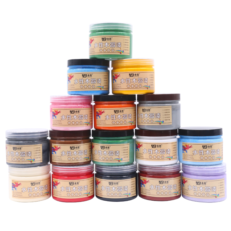 250g Pink Paint Environmentally Friendly Water based Watercolor Paint Furniture Wooden Doors Canvas Hand painted Craft Paints