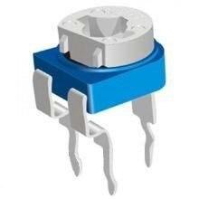 10 штук, Резистор подстроечный RM065 500кОм