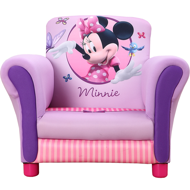 Zitzak Minnie Mouse.Multi Function Toddler Fabric Art Sofa Correct Sit Posture Kids