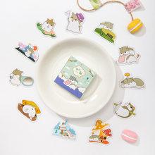 Mohamm-pegatinas de la serie Little Prince, 45 Uds., decoración de papel de álbum de recortes, suministros creativos para Colegio estacionario tela